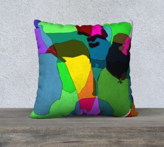Abstract Pillow by HOLLIDAY preview