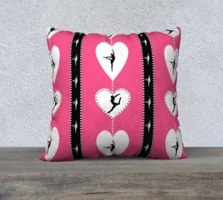 Pink gymnastics hearts preview