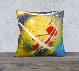 "Street Hero Pillow Case 22""x22"" preview"