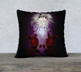 Angel of Light Goth Art Pillow preview