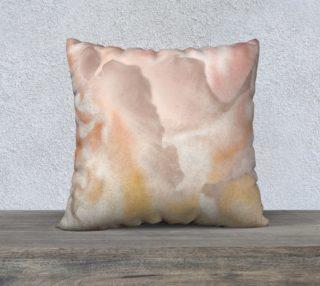 22 x 22 Peony Petal Pillow preview