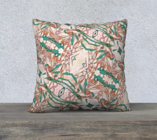 Blush Abstract Diamond Pattern Mock Floral preview