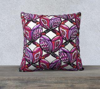 Purple Birds Pillow preview