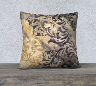 Aperçu de Gathering Natural Pillow Case 22sq