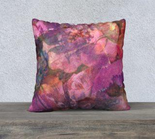 Aperçu de Unfolding Flowers Pillow Case 22sq