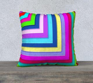 Aperçu de Hip To Be Square Throw Pillow