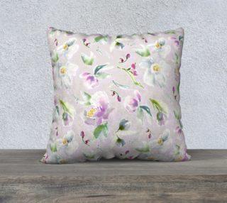 Aperçu de Pastel Florals in Cassia Purple and Blush