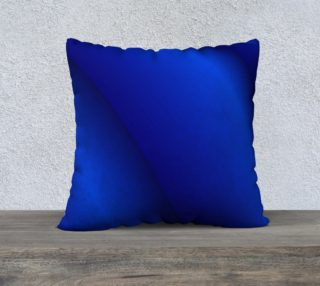 Rippled Blue Pillow Case preview