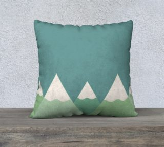 Mountain pillow case preview