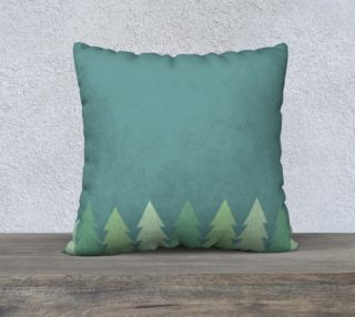Trees pillow case preview