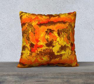 Aperçu de Orange watercolor abstraction