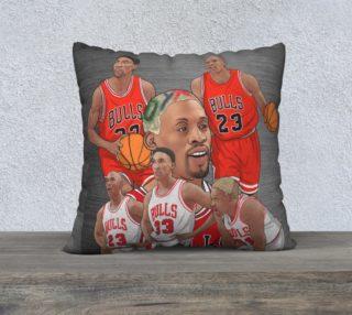 "90's Chicago Bulls 22"" x 22"" LEGENDARY Pillowcase preview"