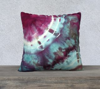 Pink Circles Pillow preview