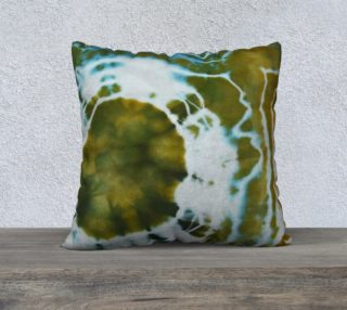 Green Geode Pillow Cover preview
