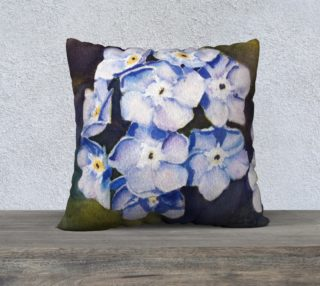 Forget-me-nots Pillow Case preview