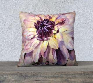 Gorgeous Dahlia Pillow Case preview