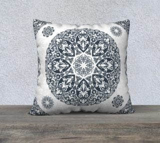 Mediterranean pattern, dark gray preview