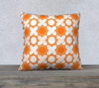Orange Arabic pattern preview