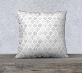 Gray abstract pattern in hand-drawing style, diamonds preview