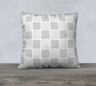 Gray abstract pattern in hand-drawing style, squares preview