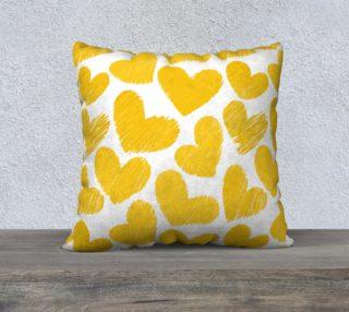 Aperçu de Sweet yellow hearts