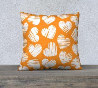 Aperçu de Girly orange hearts