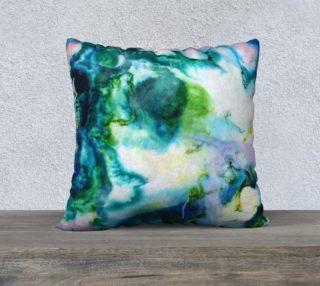 Aperçu de Inuernessus - green teal marble swirl pattern
