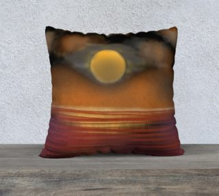 sunset pillow preview