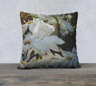Marguerites pillow preview