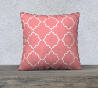 Moroccan White and Coral preview