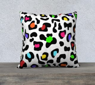 """Lovely Leopard Pillow 22""""x22"""" preview"""