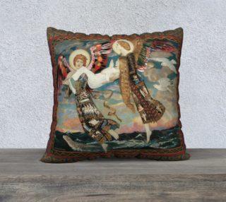 "Aperçu de St. Bride - 22"" x 22"" Pillow"