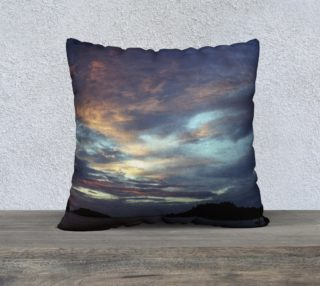 Ocean Sunset Pillow Cover Medium Size preview