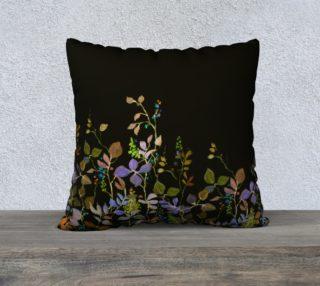Midnight Garden 22 x 22 Pillow preview