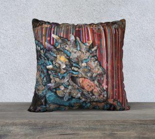 Aperçu de Steam dragon 22X22 Pillow