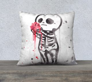 Skeleton love - Pillow preview