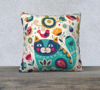 Cute Cat Pillow preview