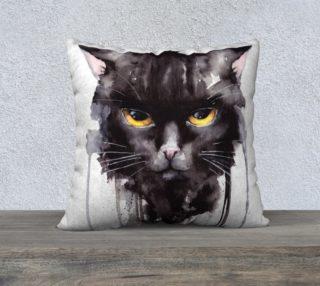 Aperçu de Angry cat - Pillow