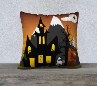 Halloween Scene Pillow Case preview
