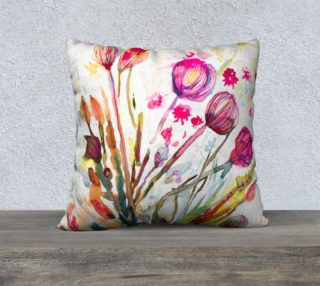 Sea Flowers  cushion cover preview