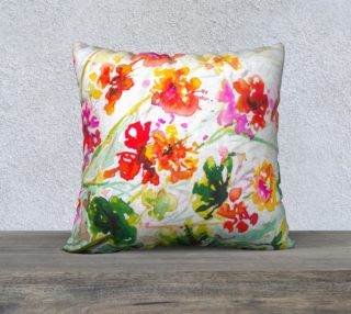 Tangy Geraniums  cushion cover preview