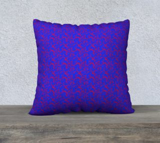 "Aperçu de 22"" Square Pillow Case Inspired by Whirlaway"