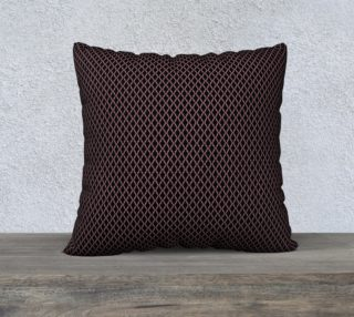 "Aperçu de 22"" Square Pillow Inspired by Affirmed"