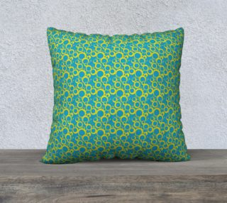 "Aperçu de 22"" Square Pillow Case Inspired by Am Pharoah"