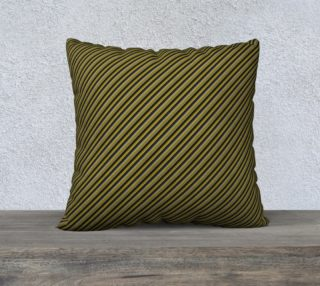 "Aperçu de 22"" Square Pillow Case Inspired by War Admiral"