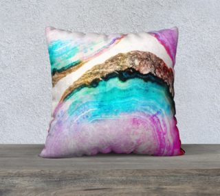 Agate v2 Pillow 22x22 preview