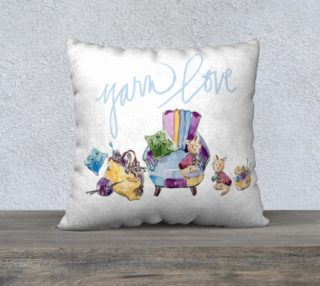 Yarn Love Pillow preview