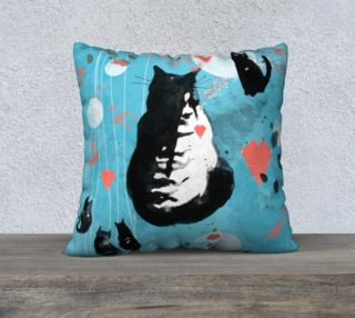 Cat Story  cushion cover preview