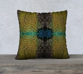 Peacock Feather Pillow preview