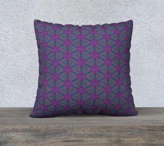 Purple Beads Pillow Case preview